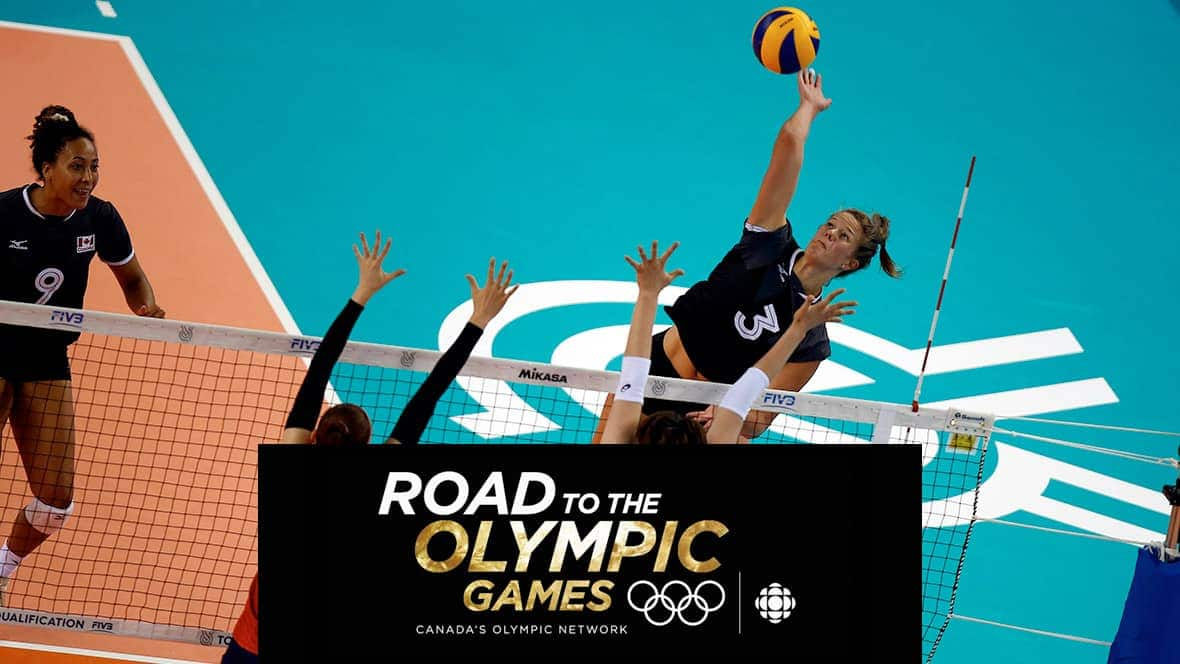 Road to the Olympic Games: FIVB Women's Volleyball Nations League on CBC: Canada v Serbia