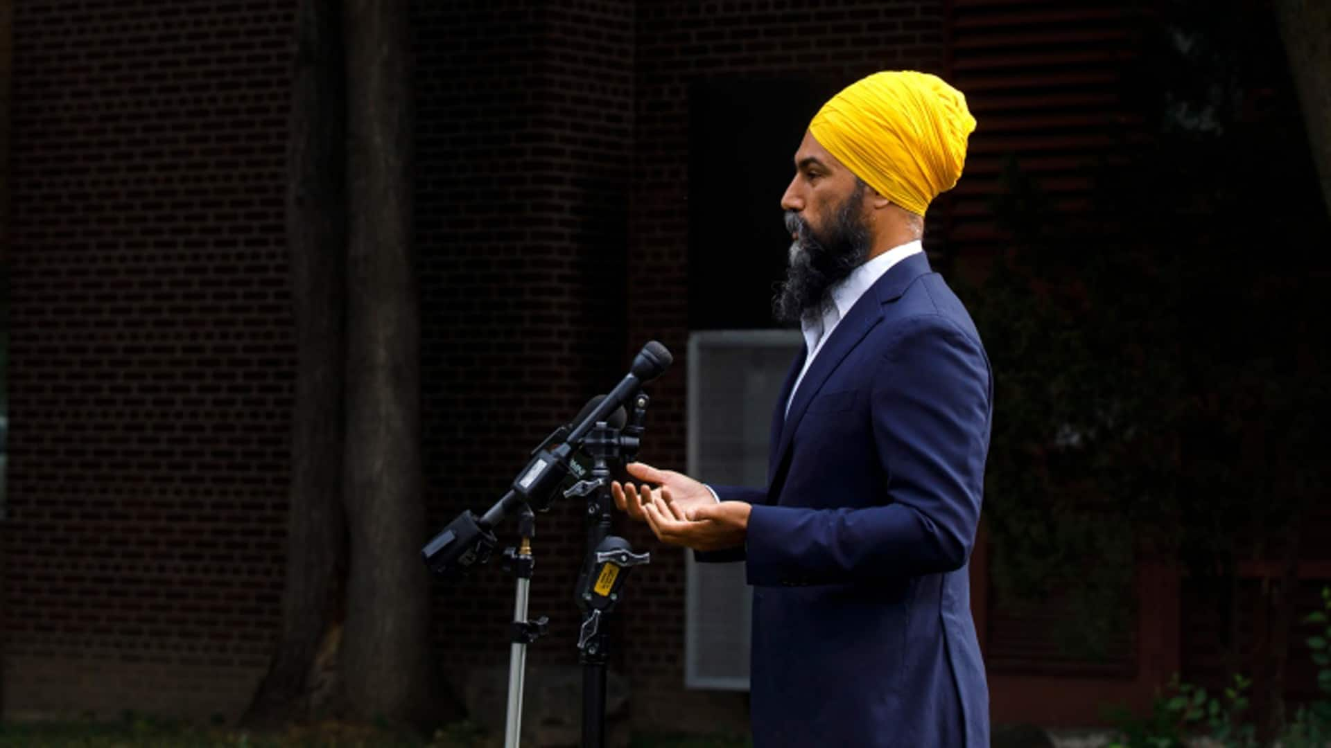 Singh delivers speech in Ottawa
